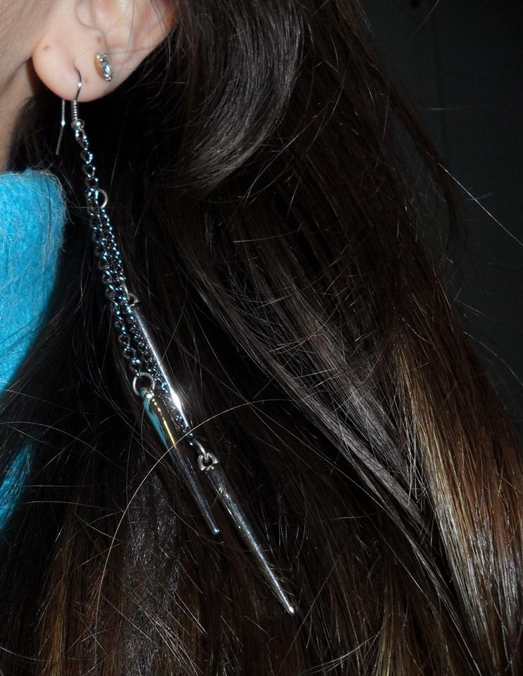 brinco gang brilho no cabelo