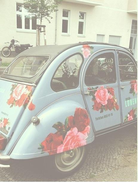 carro flor