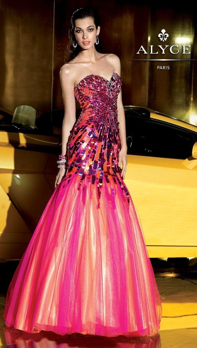 vestido sereia tipo paetês