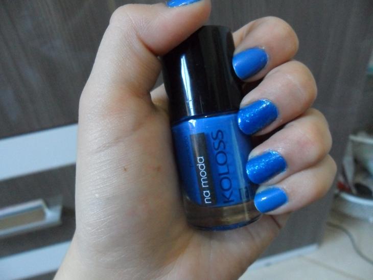 azul na moda