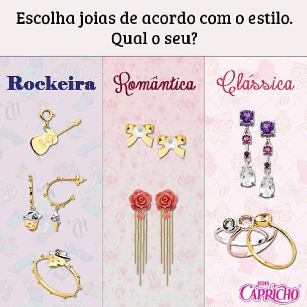 jóias tipos capricho