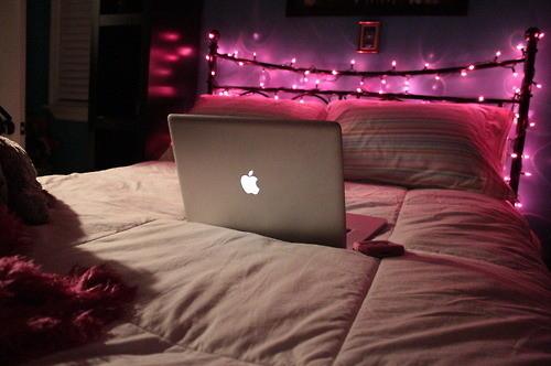 luz natal rosa
