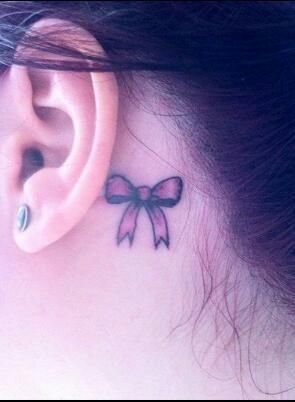 tatuagem laço