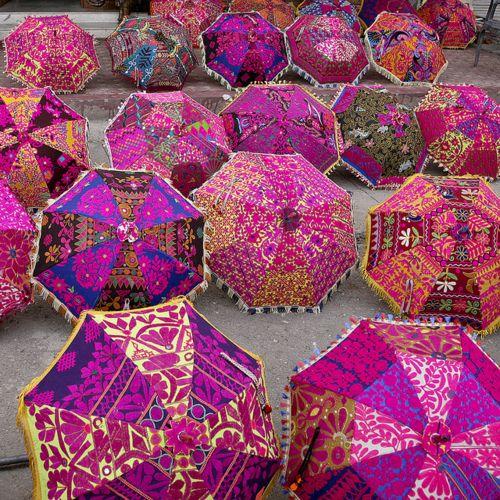 guarda chuvas indianos