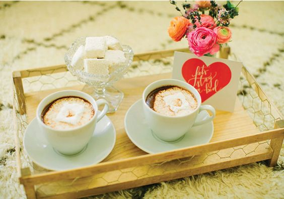 cafe na cama café