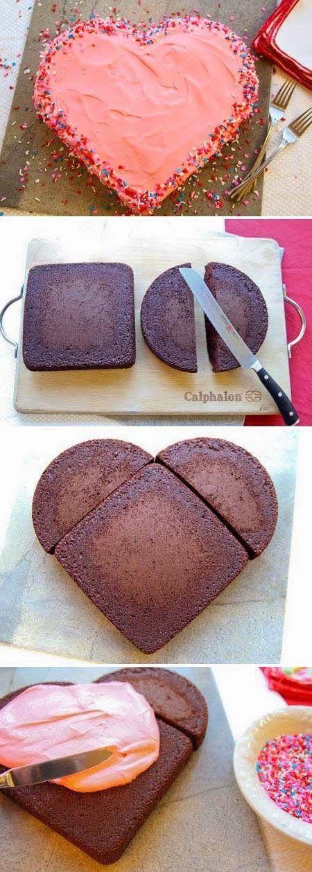 comidas romanticas bolo