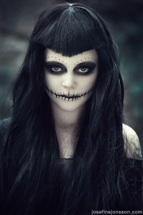 enchantress maquiagens de halloween