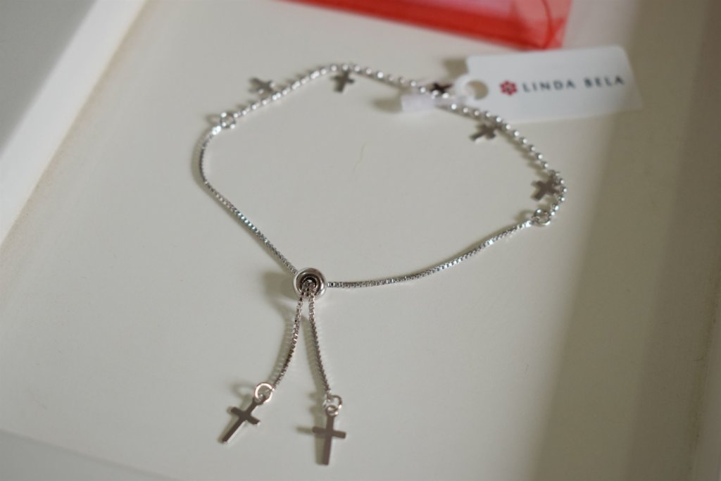 pulseira crucifixo