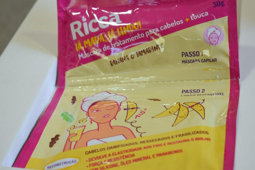 mascara capilar ricca banana